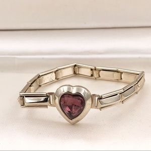 Vintage Purple Heart Japan Collectible Bracelet